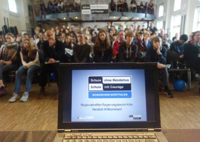 Lesung Schule ohne Rassismus - Schule mit Courage Regionaltreffen Köln 2016