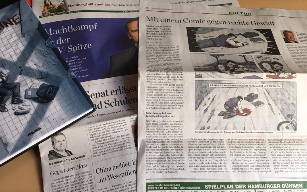 Hamburger Abendblatt und die Geschwister-Scholl-Stadtteilschule