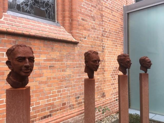 Die Stelen der Märtyrer von Lübeck