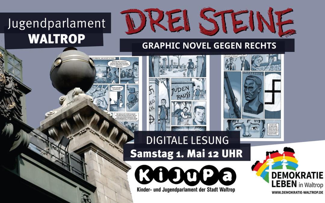 Lesung für das Jugendparlament Waltrop (NRW)