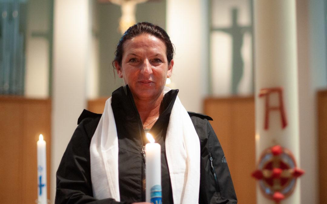 Marias Taufe zu Ostern – Team Drei Steine