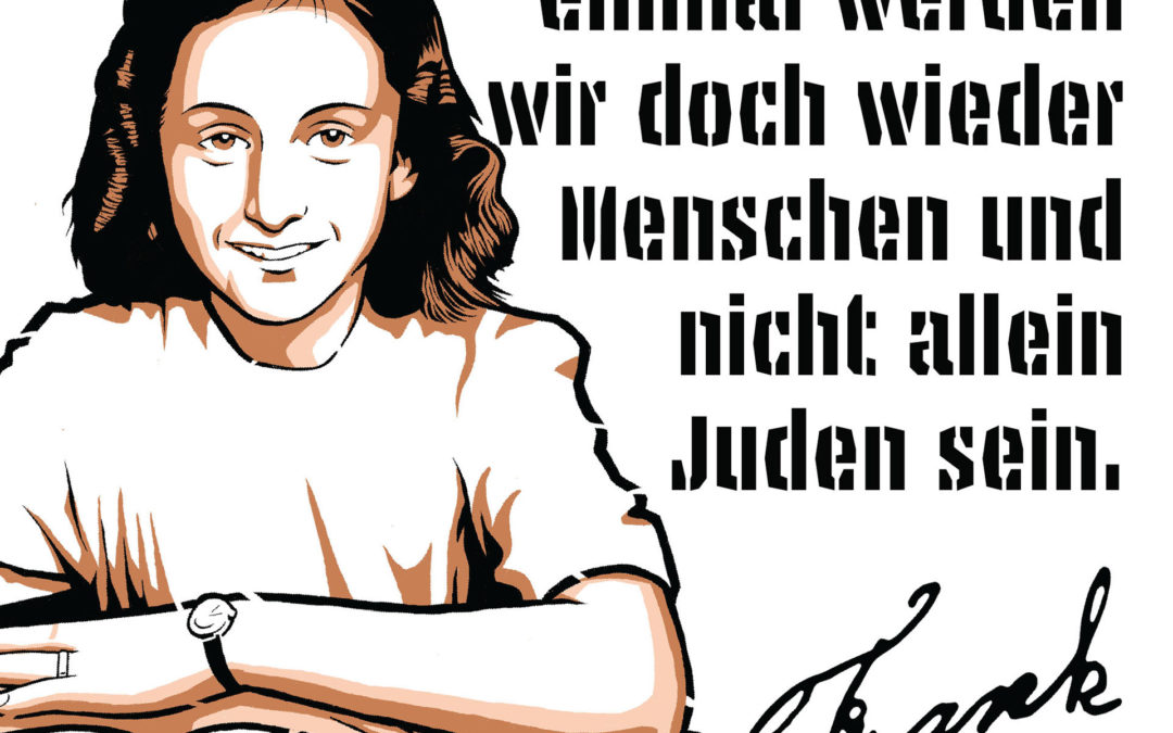 Anne Frank Streetart